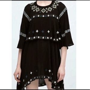 Zara Embroider Dress